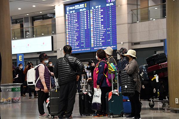 Covid-19 : la ville chinoise de Weihai place à l'isolement les passagers en provenance d'Incheon