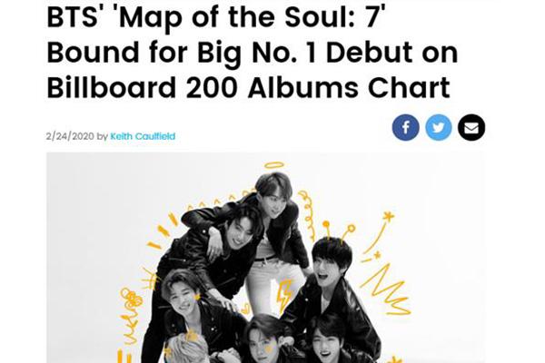 BTS continue d'écrire l'histoire avec son 4e album officiel