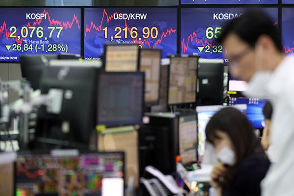 Bourse : la reprise aura été de courte durée