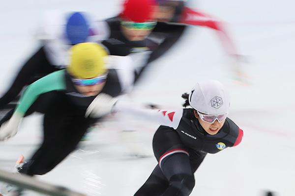 ソウルのショートトラック世界選手権が無期限延期 感染拡大受け