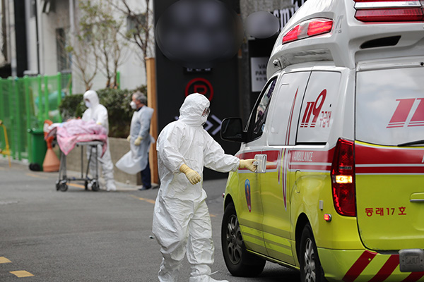 Covid-19 : avec 284 nouveaux cas, la Corée du Sud compte 1 261 personnes infectées