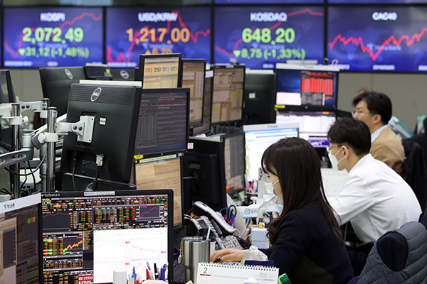 El mercado bursátil continúa inestable