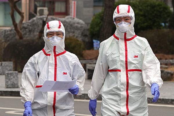 新型コロナの感染者、2000人超え 大邱は病床不足が深刻