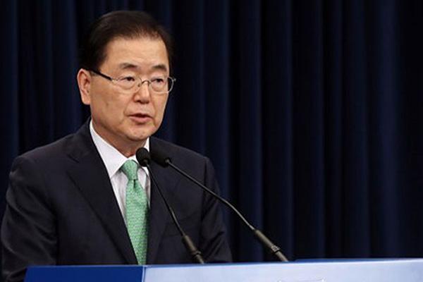 المكتب الرئاسي يعقد اجتماعا وزاريا حول إطلاق القذائف الكورية الشمالية