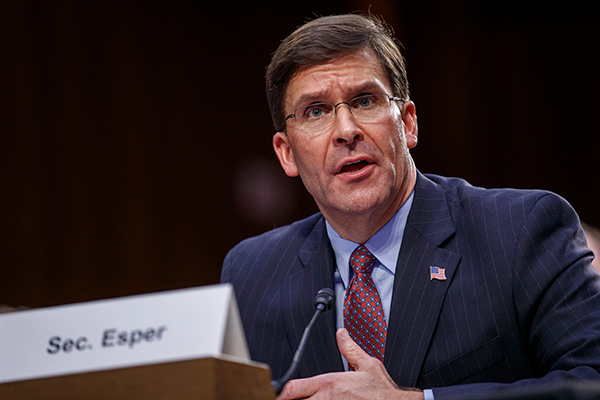 US Defense Chief Reiterates Need of Collective Security Alliance in Indo-Pacific