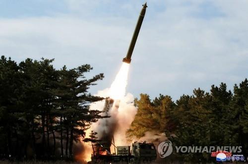 В КНДР провели пуск снаряда