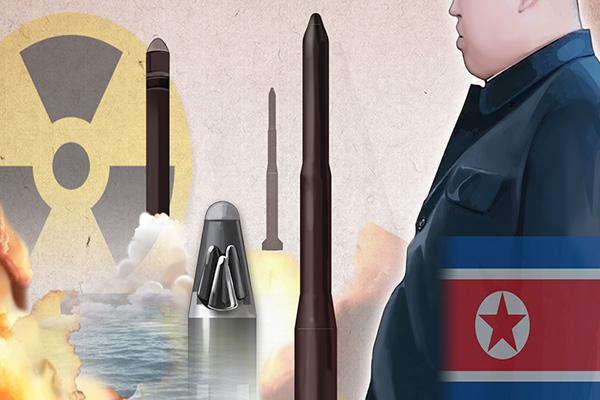 كوريا الشمالية تطلق 3 مقذوفات مجهولة الهوية