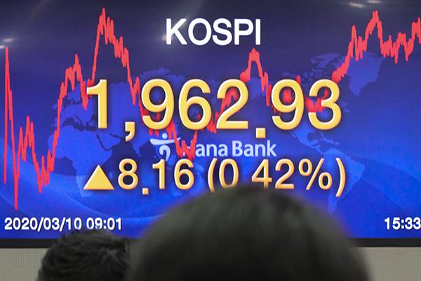韩国综合股价指数时隔3天实现反弹