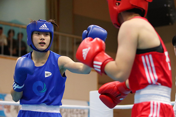Boxerin Oh Yeon-ji holt Gold in Olympia-Qualifikation