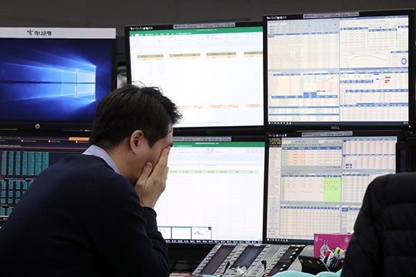 Bourse : mauvaise fin de semaine