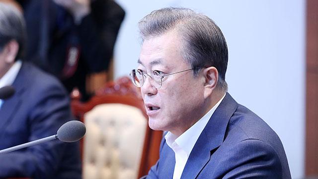 Moon Deplores N. Korea's Killing of S. Korean Official, Calls for Pyongyang's Response