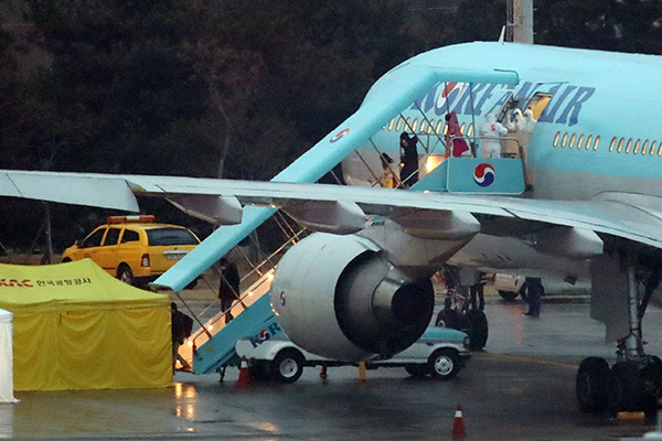 Charter Flight Leaves for Milan to Bring Home Over 300 S. Koreans