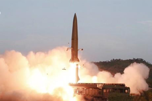 N. Korea Fires 2 Short-Range Ballistic Missiles