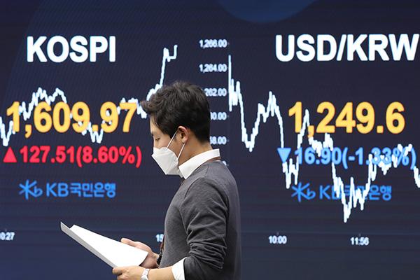 Bourse : rebond des indices et taux de change réduits