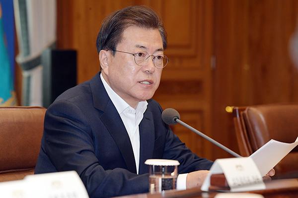 Covid-19 : Moon Jae-in annonce une aide de 100 000 milliards de wons pour les entreprises