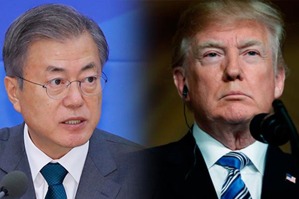 Covid-19 : Donald Trump appelle Moon Jae-in pour obtenir du matériel médical