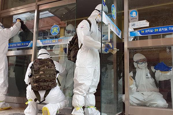 해외 4개국, 국방부에 '코로나19 대응 조치' 자료 요청