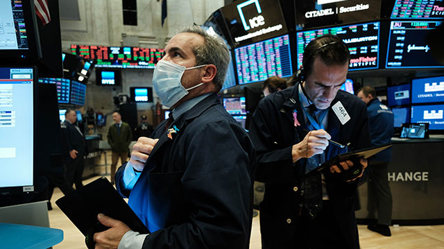 Dow Soars over 11% on Stimulus Hopes