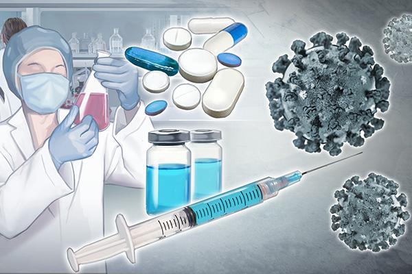 질병관리본부, 코로나19 치료제·백신 실용화 연구 가속화
