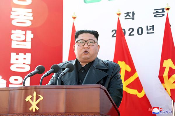 """조선신보 """"북한, 평양종합병원 완공으로 보건 급진전 계획 추진"""""""