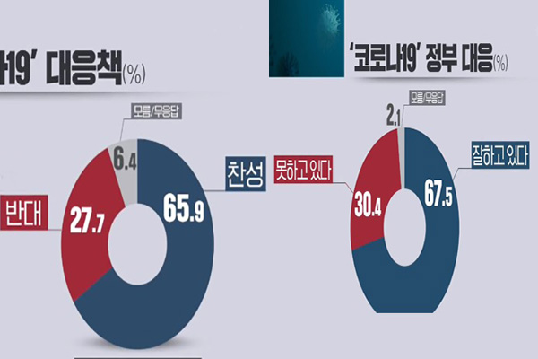 67,5% населения РК положительно оценивают действия правительства в связи COVID-19