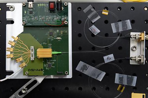 ETRI : développement d'un émetteur-récepteur à fibre optique de 400 Gbps