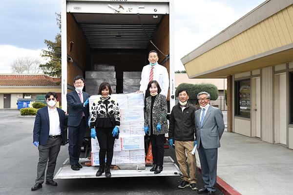 미 북캘리포니아 한인들, 한국에 마스크·장갑 등 기증