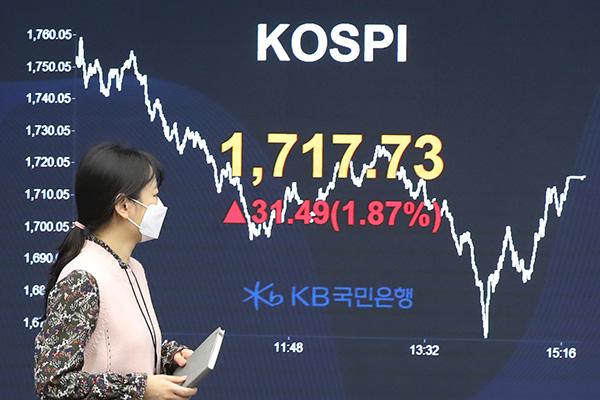 3月31日主要外汇牌价和韩国综合股价指数