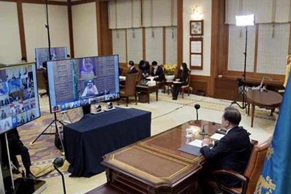 Moon Jae In enfatiza la solidaridad internacional en la lucha contra el COVID-19