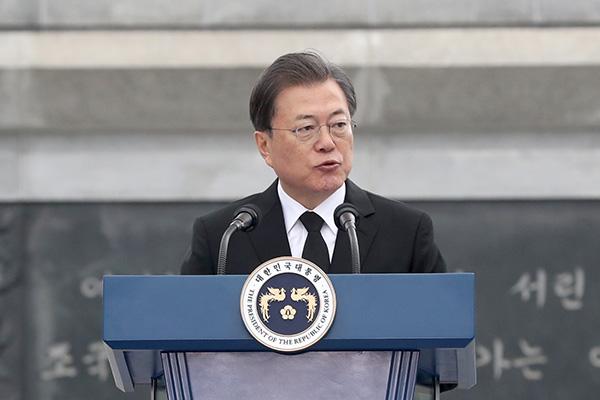 Мун Чжэ Ин: В борьбе с вирусом COVID-19 важно проявлять патриотизм