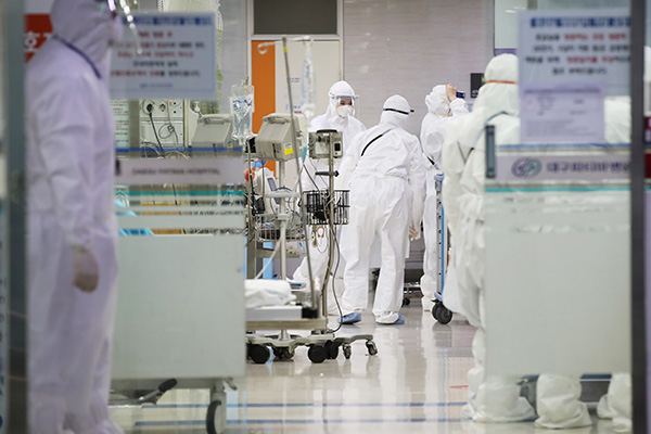 韩国新增91例新冠肺炎确诊病例 累计9332例