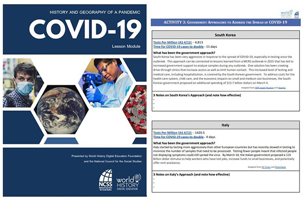 S. Korea's Coronavirus Response Mentioned in US Educational Materials on COVID-19