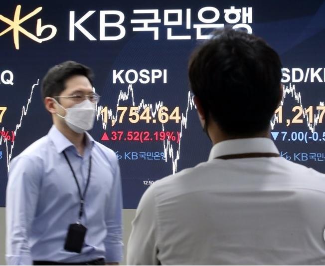 KOSPI Jumps over 2%