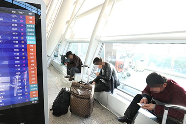 Около ста южнокорейцев не могут вылететь из Москвы на родину из-за отмены авиарейсов