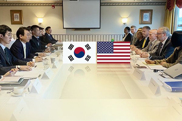 韓米防衛費分担金交渉 暫定的に妥結か