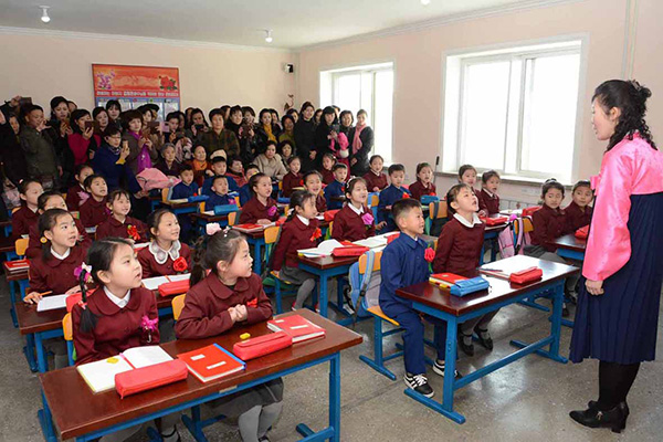 북한, 초등학교도 중고교식 수업하나…'과목별 교사' 도입 검토