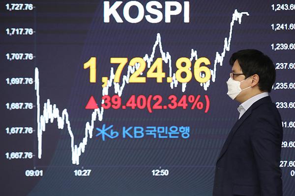 La Bolsa surcoreana sube más del 2%