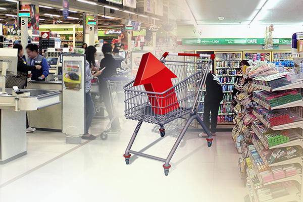 新冠疫情推升食材需求 韩3月消费者物价上涨1.0%