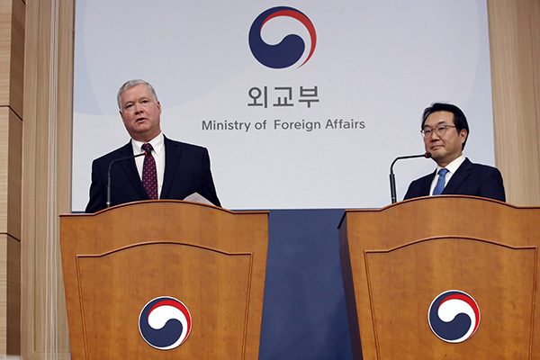 Trưởng đoàn đàm phán hạt nhân Hàn-Mỹ thảo luận về phối hợp trong vấn đề Bắc Triều Tiên