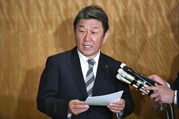 일본 외무상, '독도 청원'에