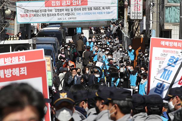 서울시, 집회금지명령 위반한 사랑제일교회 경찰 고발