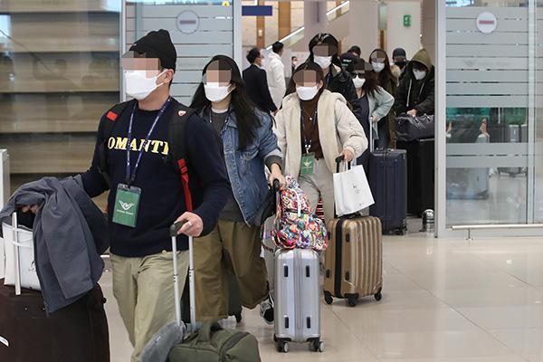 انخفاض عدد الوافدين إلى كوريا بنسبة 92% في شهر مارس