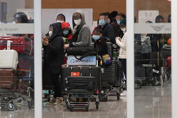 105 مواطنين كوريين يعودون من المغرب في رحلة مستأجرة