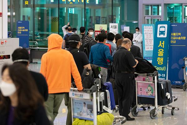 COVID-19 : 221 ressortissants sud-coréens rapatriés d'Inde