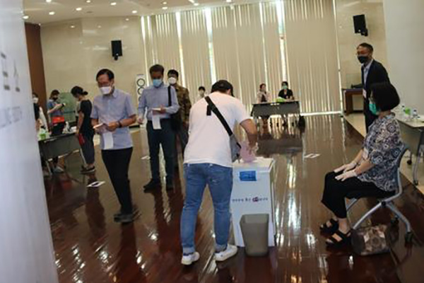 Turnout in Overseas Voting Record Low at 23.8%