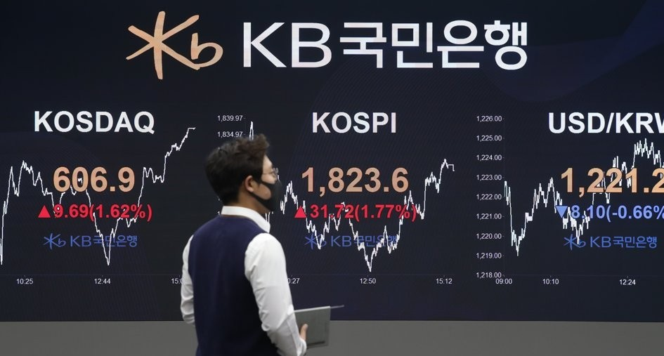 KOSPI Up 1.77% on Tuesday