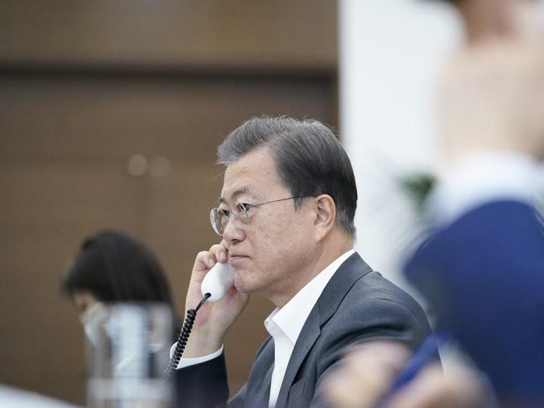 COVID-19 : le chef de l'OMS prône le rôle de Moon dans la lutte contre la pandémie