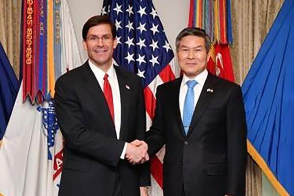 Financement des GI's : les ministres sud-coréen et américain de la Défense s'entretiennent par téléphone