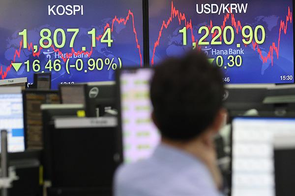Leitbörse Kospi-beendet viertägige Rally