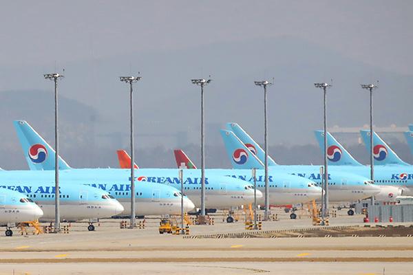 大韓航空 従業員の7割に6か月間の休業実施